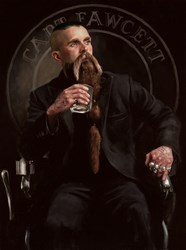 Captain Fawcett by Vincent Kamp - Limited Edition on Canvas sized 15x20 inches. Available from Whitewall Galleries